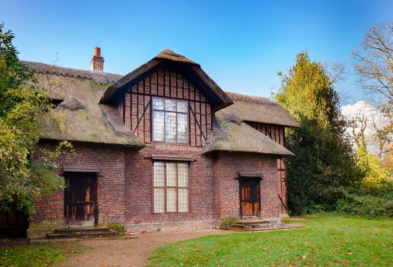 女王Charlottes村庄在Kew庭院西南伦敦英国里 图库摄影