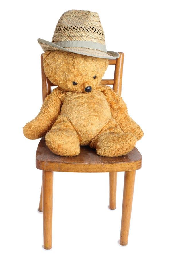 女用连杉衬裤涉及椅子两 库存照片