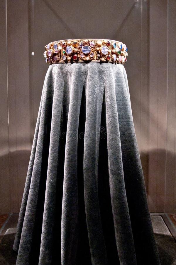 女皇Kunigunde,慕尼黑Residenz,德国的冠 库存图片