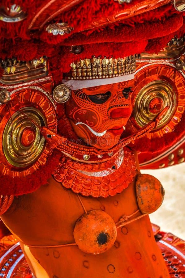 女神卡利市崇拜  在喀拉拉 库存图片