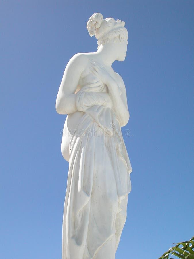 女神希腊 库存照片