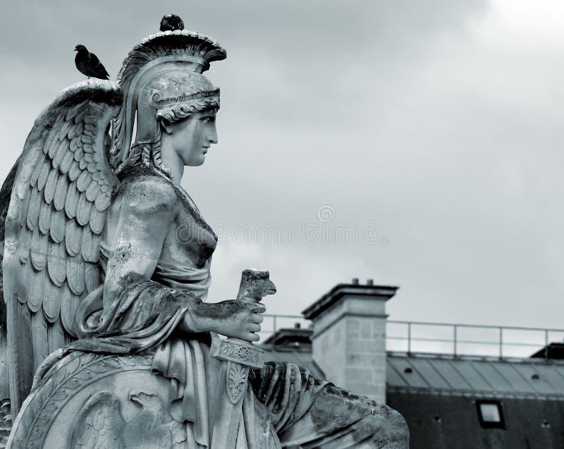 女神雕塑 免版税库存图片