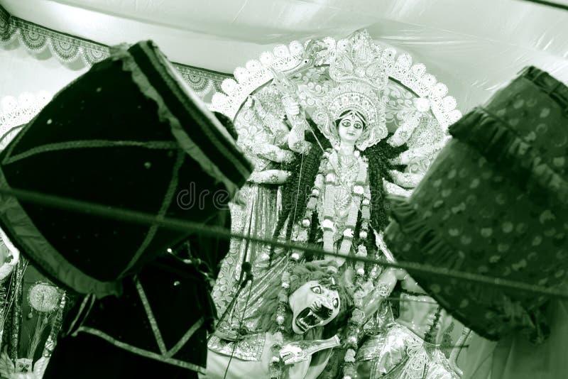 女神Durga 免版税库存图片