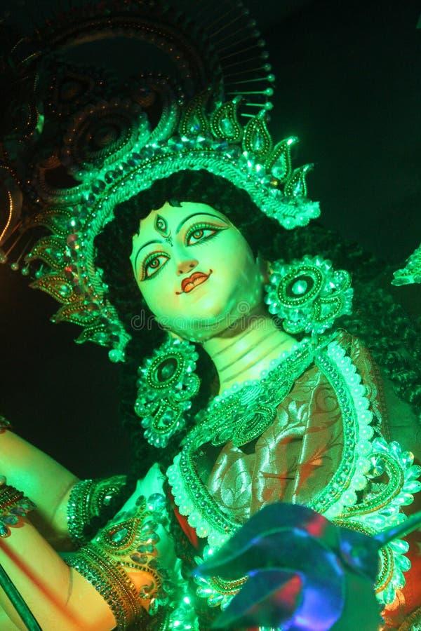 女神Durga 免版税库存照片