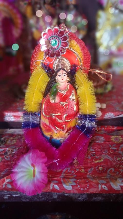 女神Lakshmi 免版税库存照片