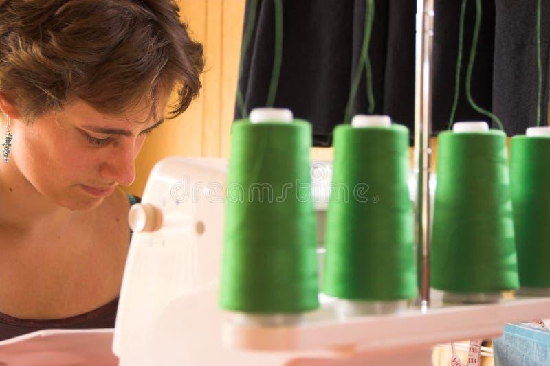 女裁缝 免版税库存照片