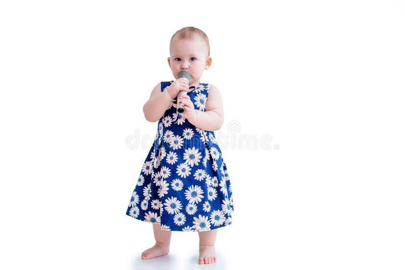 女婴一点 库存图片