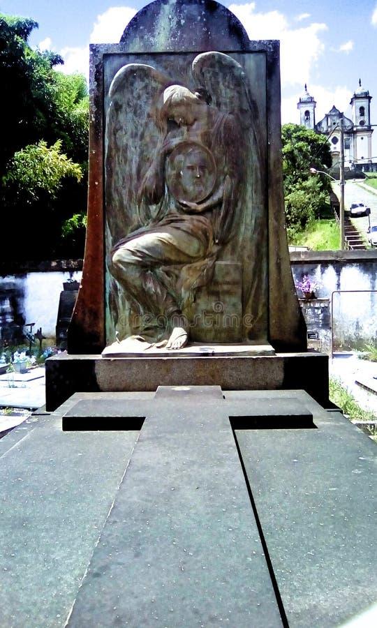 奴隶Isaura的作者 免版税图库摄影