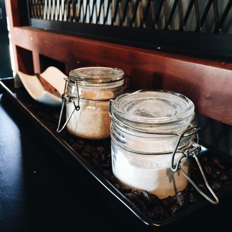 奶油或糖? 图库摄影
