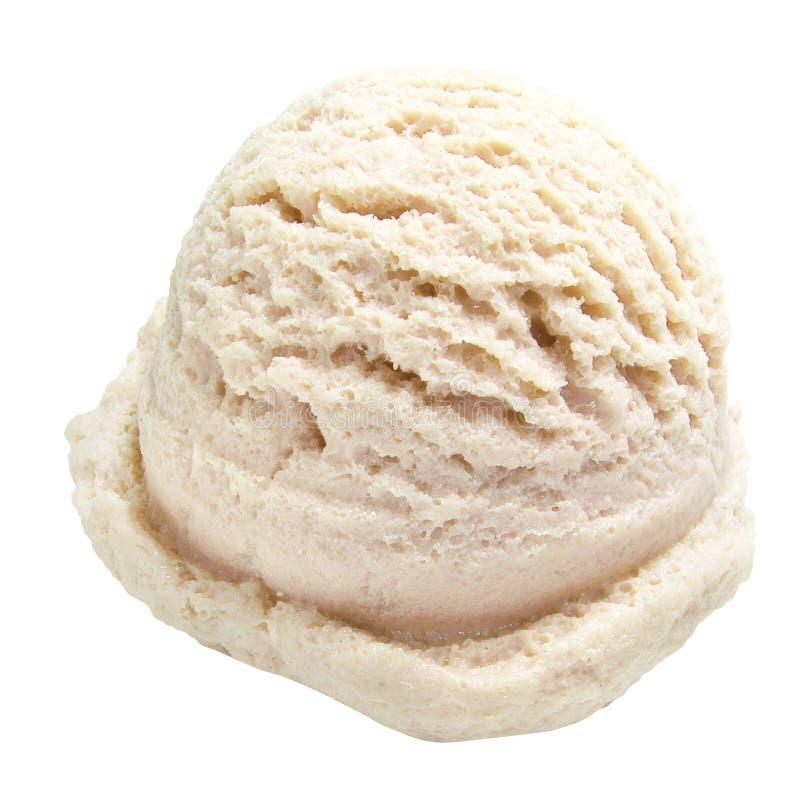 奶油色冰香草 免版税库存照片