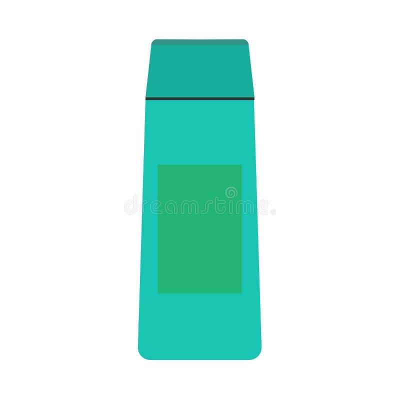 奶油色瓶例证健康化妆化妆水传染媒介象 天然产品管皮肤护理手胶凝体特写镜头 向量例证