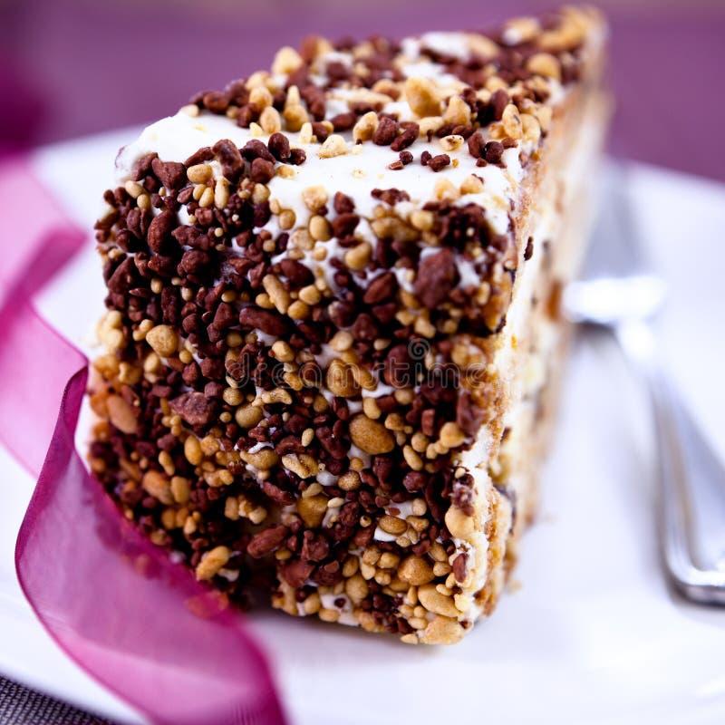 奶油色蛋糕 库存照片