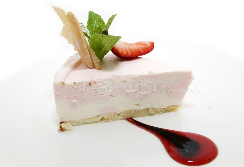 奶油色蛋糕 免版税库存照片