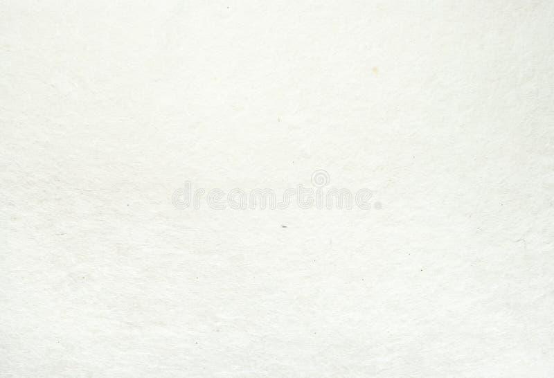 奶油色颜色桑树纸纹理背景 免版税库存照片