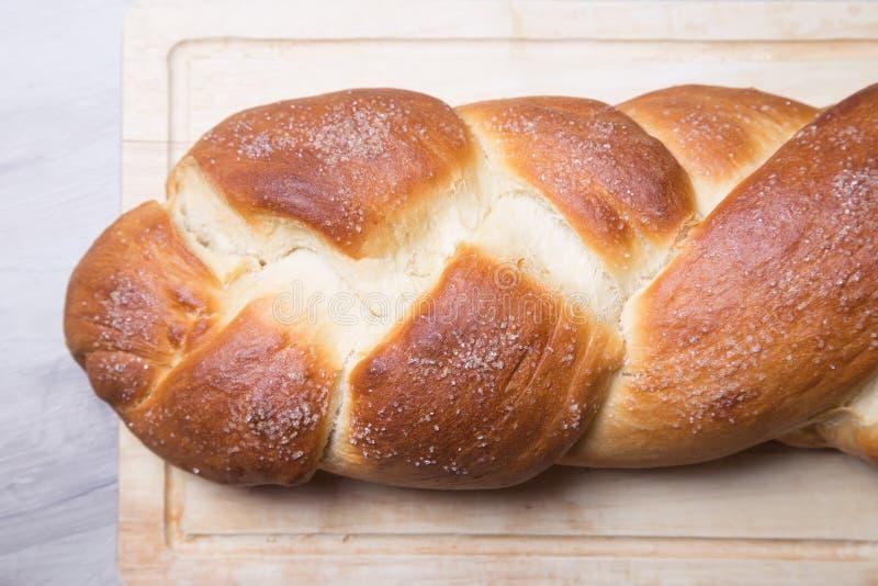 奶油蛋卷 面包新鲜自创 传统法国烘烤 库存照片