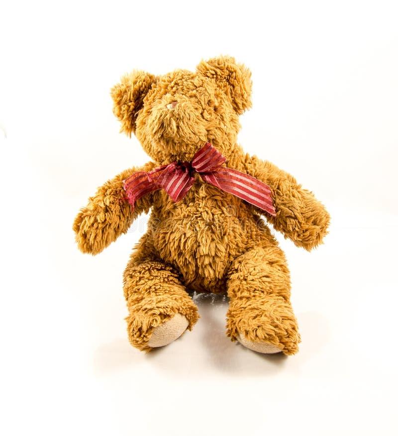 好和逗人喜爱的玩具熊 免版税库存照片