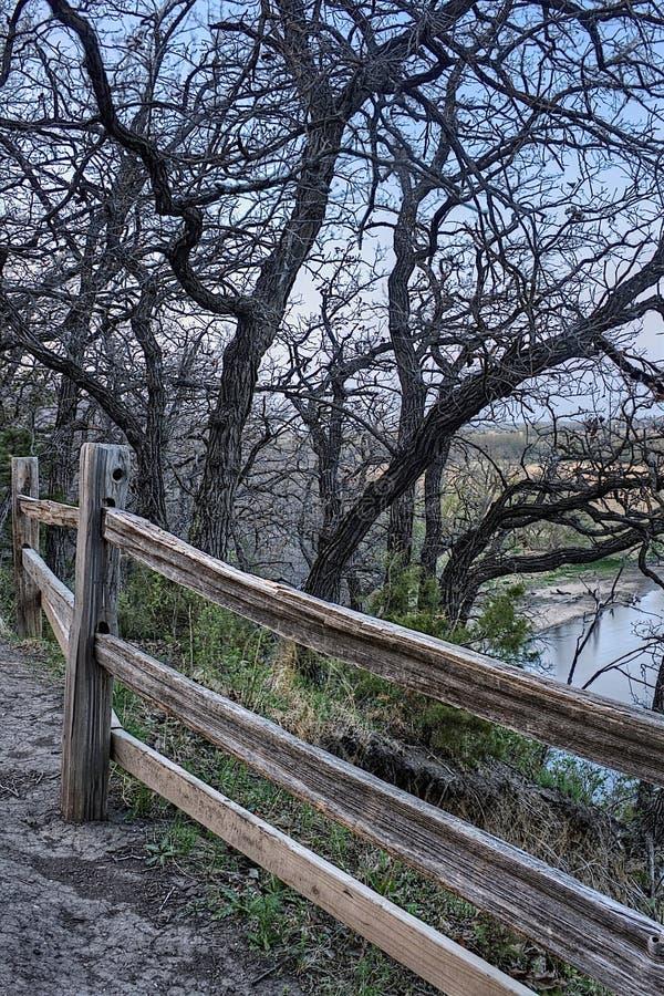好地球国家公园是都市国家公园在苏族瀑布,南达科他地铁地区边缘 免版税库存照片