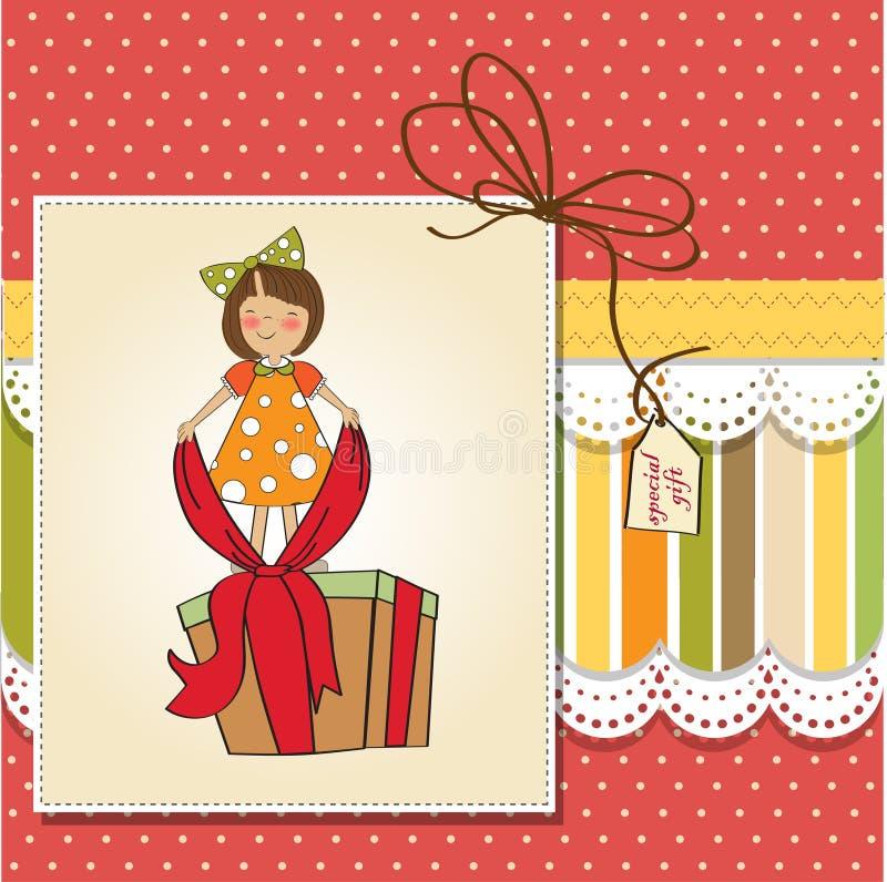 Download 好大配件箱礼品的女孩 库存例证. 插画 包括有 生日, 庆祝, 动画片, bimini, 活动, 上升, 愉快 - 22350840