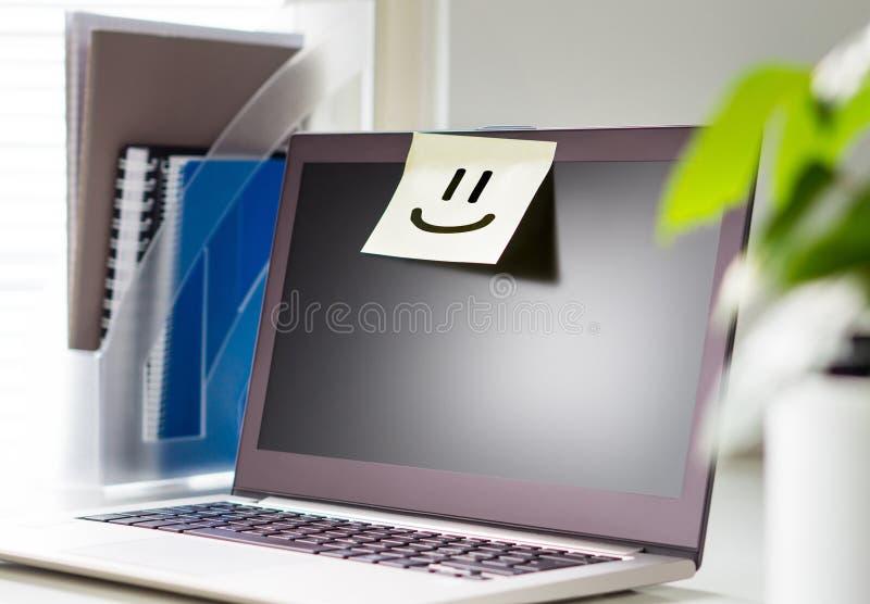 好工作环境和愉快的大气在工作场所 库存照片