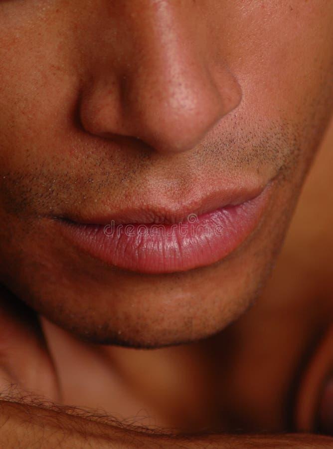 好接吻的人 免版税库存照片