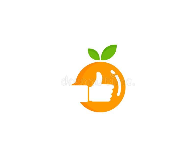 好最佳的果子象商标设计元素 皇族释放例证