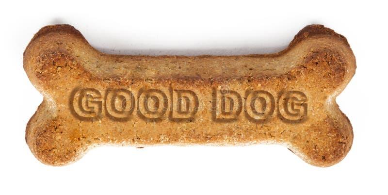 好狗奖励饼干 图库摄影