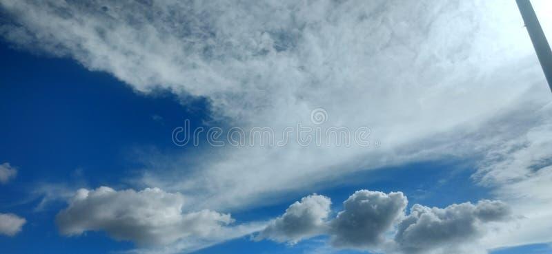好的天空 免版税库存照片