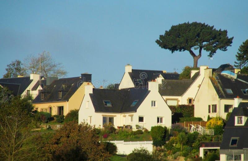 好的村庄在法国 库存照片
