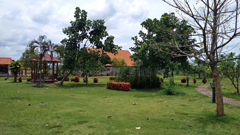 好的泰国viliage公园 库存照片