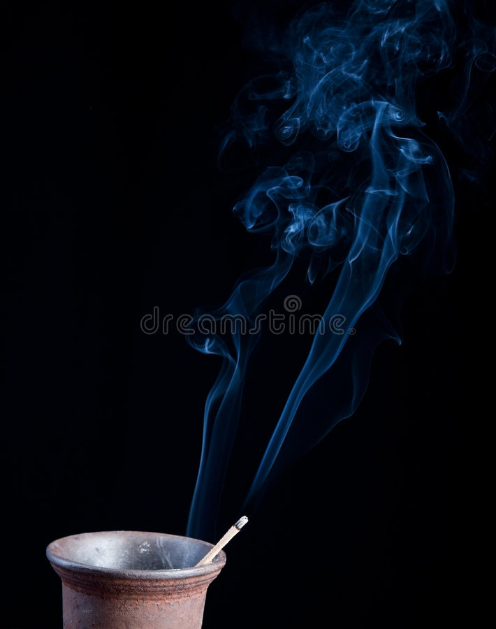 好的烟 免版税库存图片