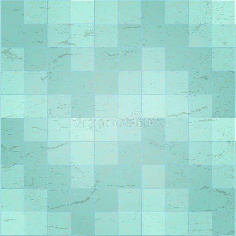 好的蓝色织地不很细背景 向量例证