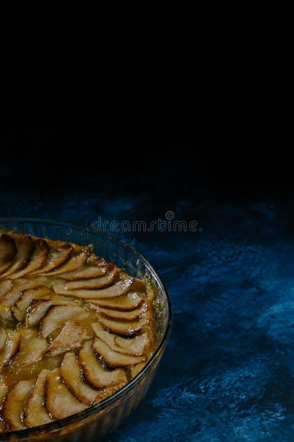好苹果饼 免版税库存照片