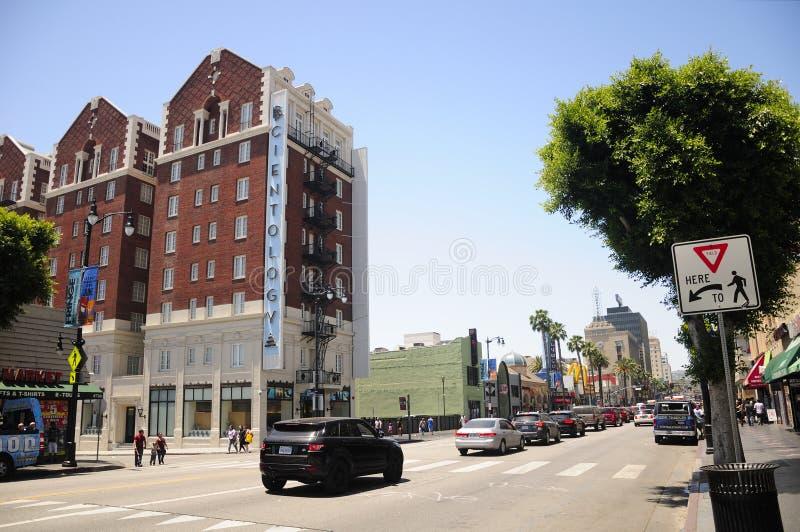 好莱坞大道加利福尼亚 免版税图库摄影