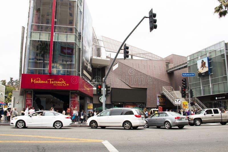 好莱坞大道在洛杉矶 免版税图库摄影