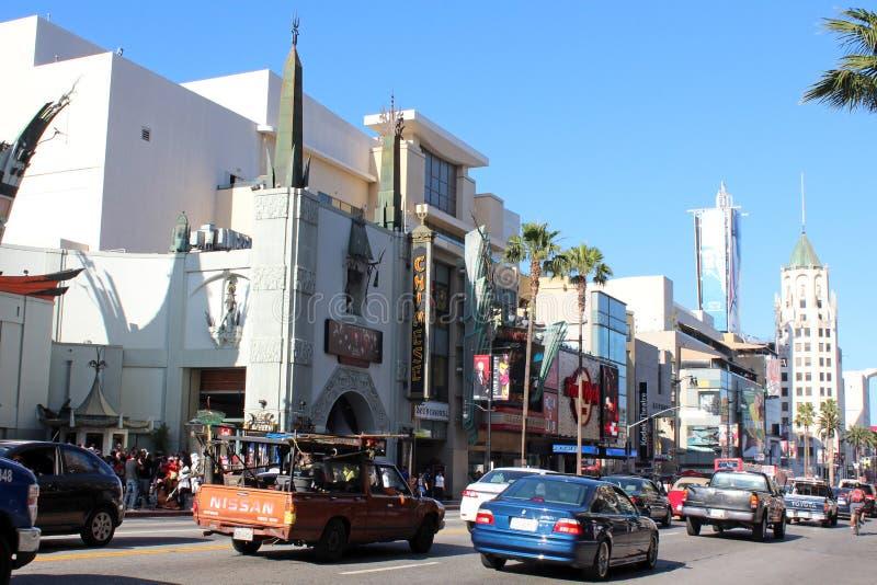 好莱坞大道 免版税图库摄影