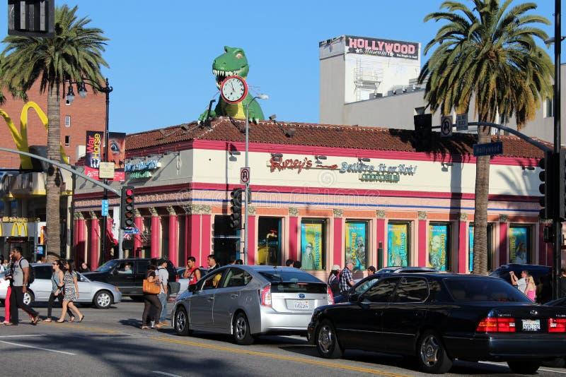 好莱坞大道 库存照片