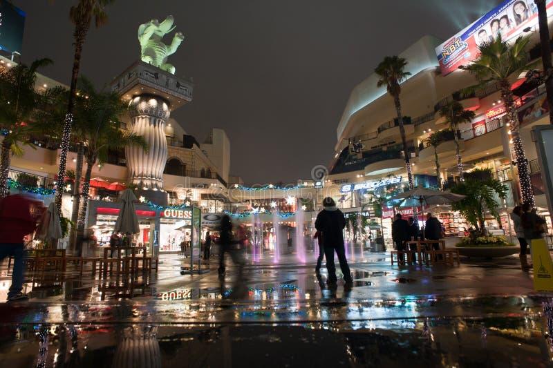 好莱坞&高地 库存图片