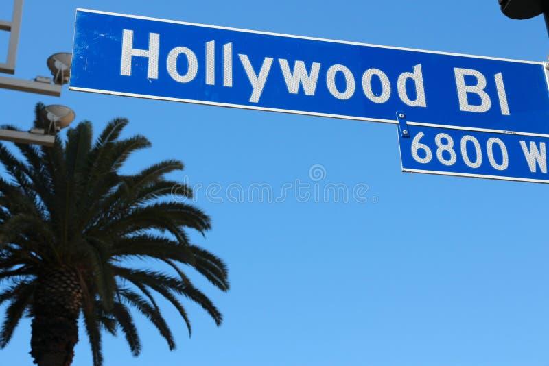 好莱坞 库存图片