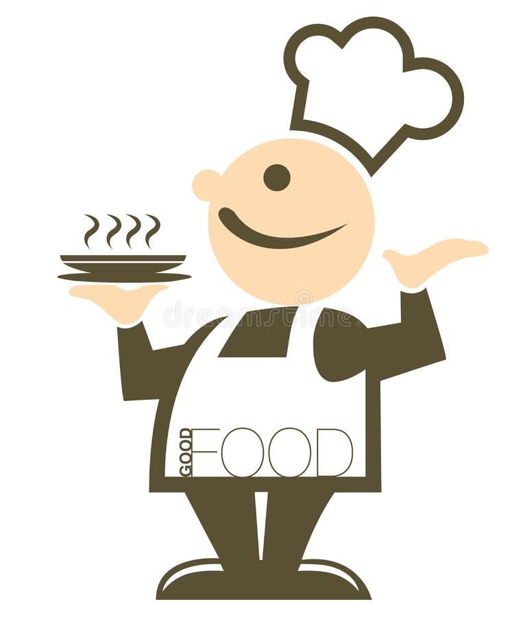 好食物 向量例证