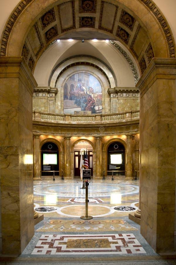 好马萨诸塞状态议院  库存图片