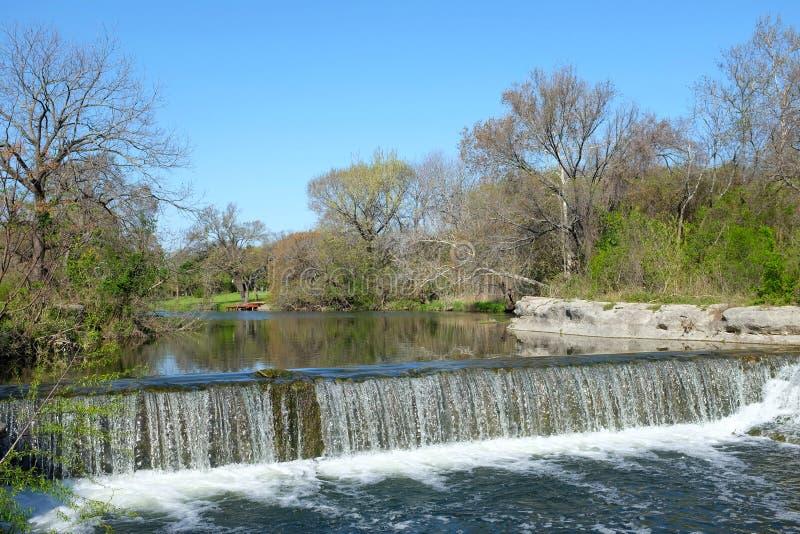 如毛刷小河, Chisholm足迹公园 库存照片