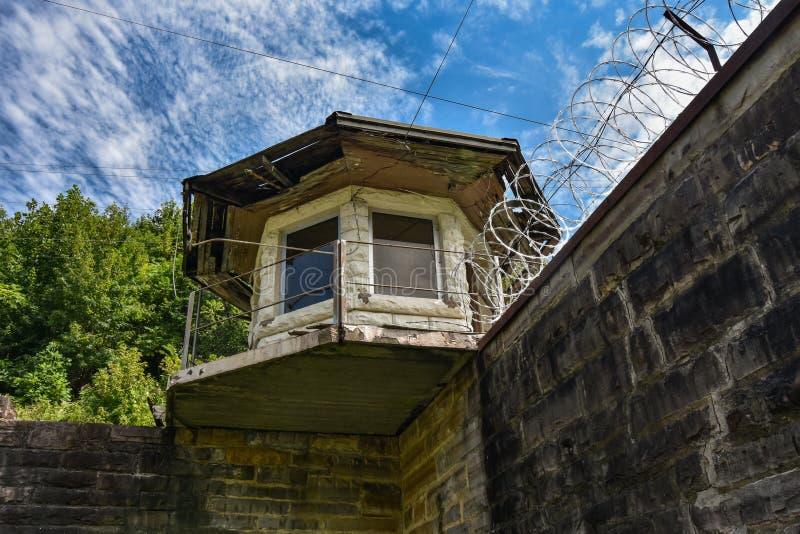如毛刷山状态监狱记忆 免版税库存照片