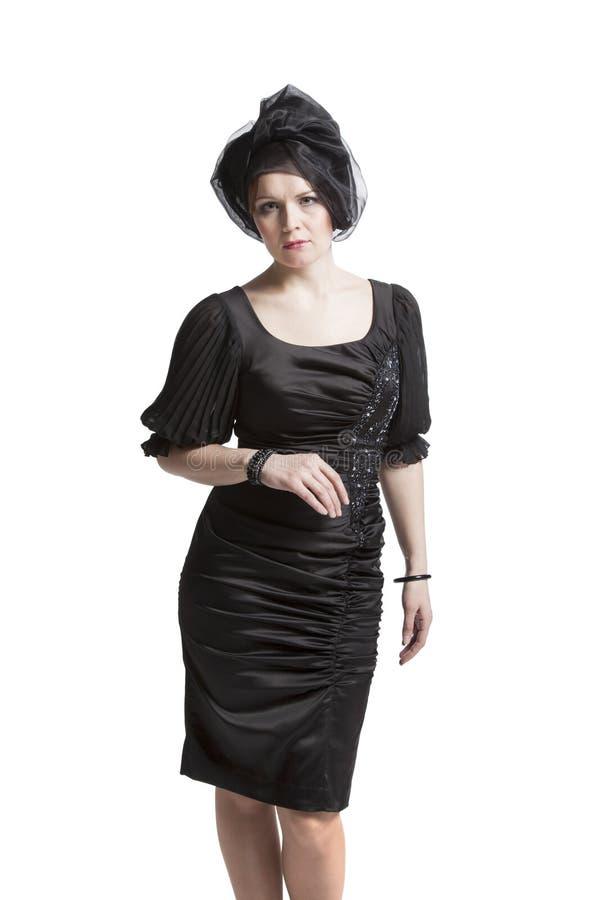妇女佩带的礼服 库存图片
