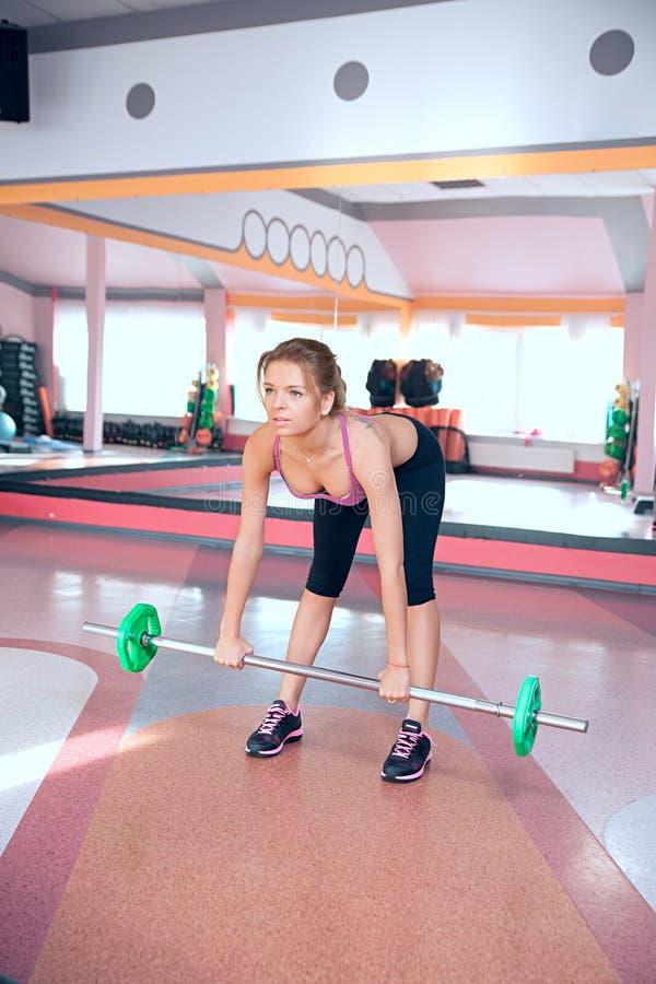 妇女向体育运动求助 图库摄影