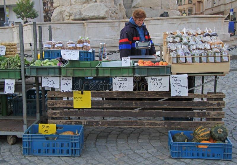 Download 妇女在布尔诺卖在街市上的菜,捷克语 编辑类照片. 图片 包括有 拱道, 果子, 市场, 布琼布拉, 工作 - 72360341