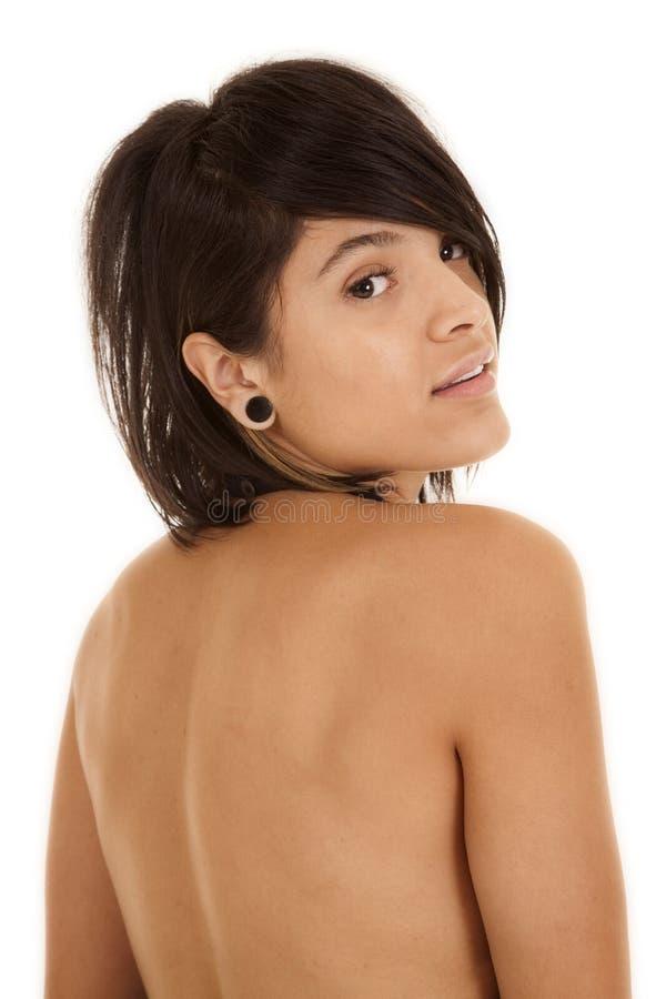Download 妇女在肩膀的后面神色 库存图片. 图片 包括有 夫人, 查出, 自然, 腋窝, 构成, 现代, 概念, 眼睛 - 30325901