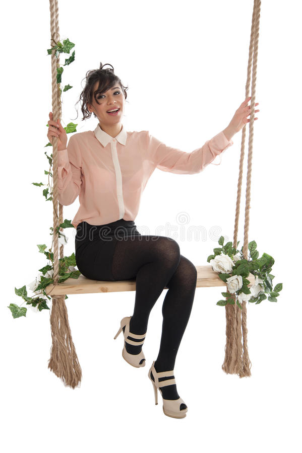 Download 妇女坐长凳 库存图片. 图片 包括有 表示, 魅力, 查找, 情感, 成人, 快乐, 粉红色, 方式, 阴物 - 30335669