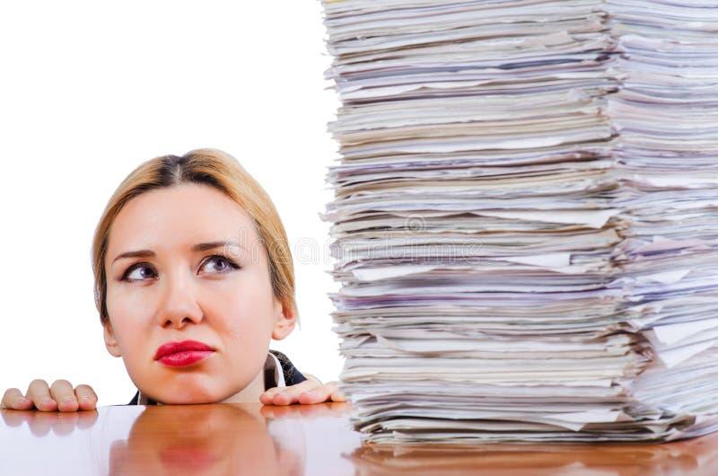 妇女女实业家 免版税库存图片