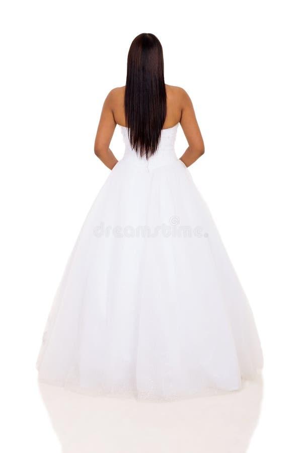 妇女婚礼礼服 免版税库存图片