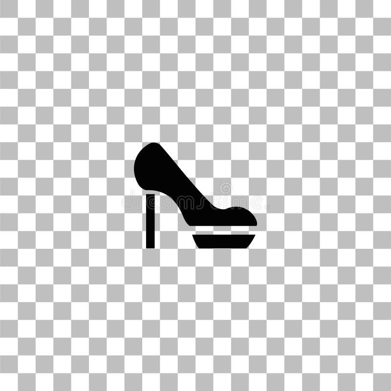 妇女平展鞋子象 库存图片